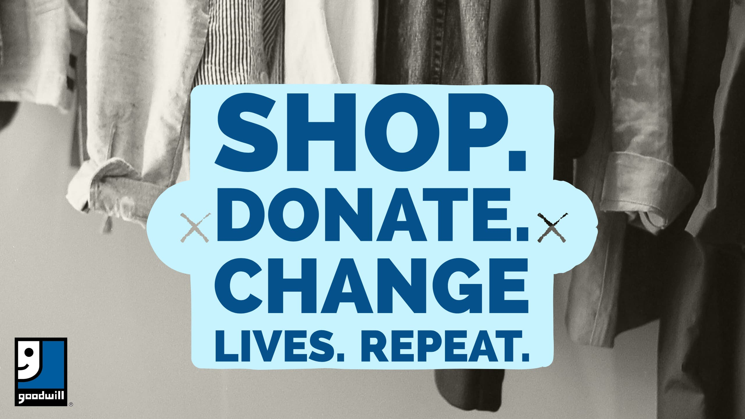 Shop. Donate. Change Lives. Repeat.